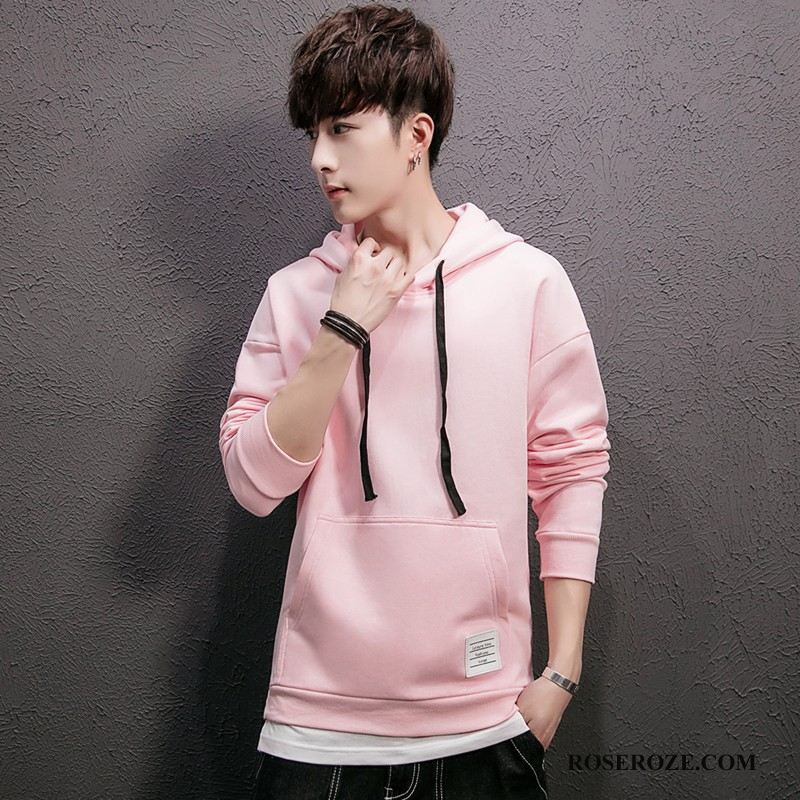 Hoodies Heren Mode Roze