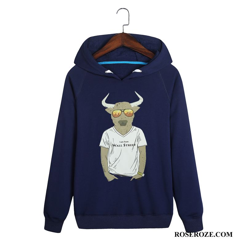 Hoodies Heren Winter Herfst 2018 Mode Mannen Trend Donkerblauw