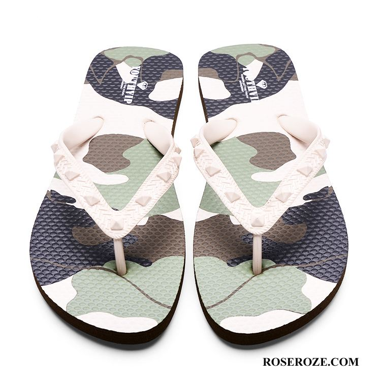 Slippers Dames Antislip Vrouw Zomer 2018 Badkamer Casual Camouflage Wit